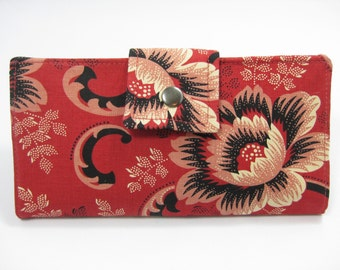 Ladies Wallet, Handmade Wallet, Womens Bifold Wallet