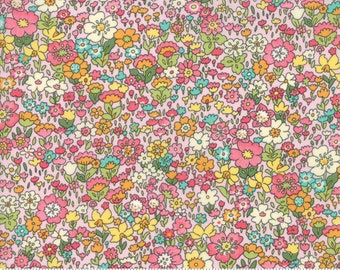 Kenwood in Pink - Regent Street Lawns 2018 - Cotton Lawn Fabric - Moda Fabrics - Floral - 33324 11 - Tiny Floral