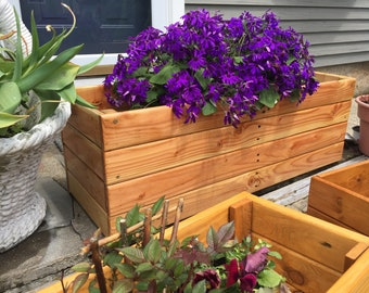 Reclaimed/Pallet Wood Planter boxes