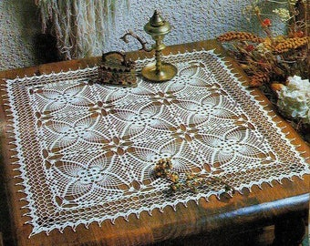 Square lace doily 23*23