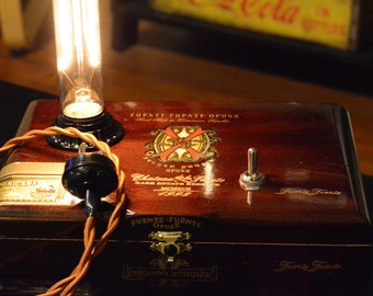 Cigar Box Lamp