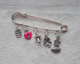 PIN with charms