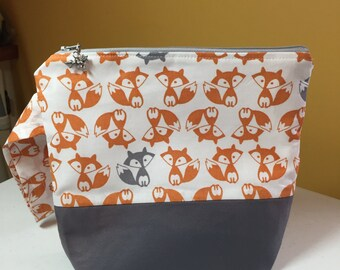 Foxy Wedge Pouch