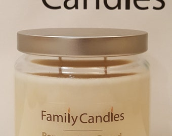 Family Candles -  16 oz Banana Nut Bread Double Wicked Soy Candle