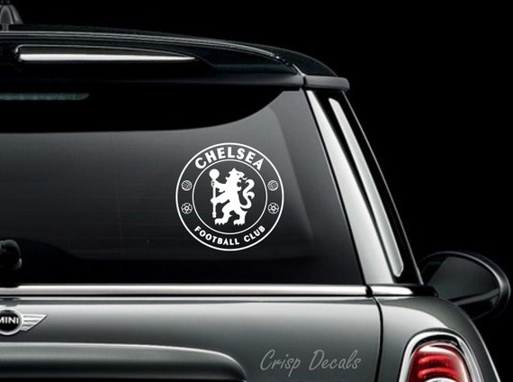Chelsea fc vinyl decal bumper sticker