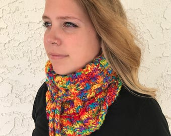 Cowl/Hat Coversion in Bright Colors
