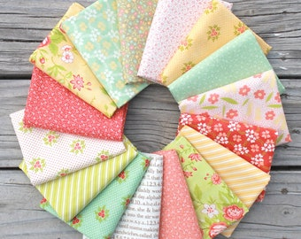Ella and Ollie by Fig Tree and Co for Moda ~ 16 Fat Quarter Bundle