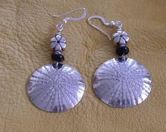 Sterling Silver & Onyx Earrings