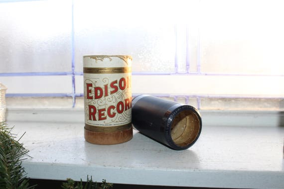 Antique Edison Cylinder Record 2025 Is My Name Written There
