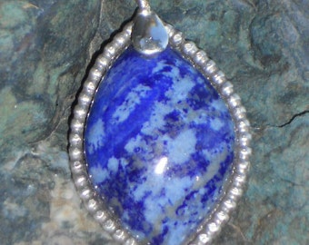 Sterling Silver Gemstone Pendant.