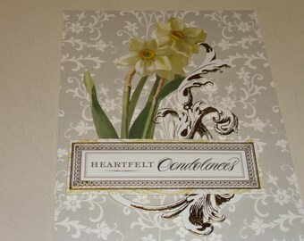 Heartfelt Condolences Card