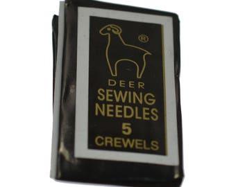 25 Beading Needles For Threading & Stringing 42mm Jewellery Craft Making