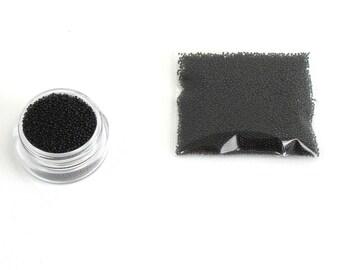 Micro beads in glass black light X 10 grams