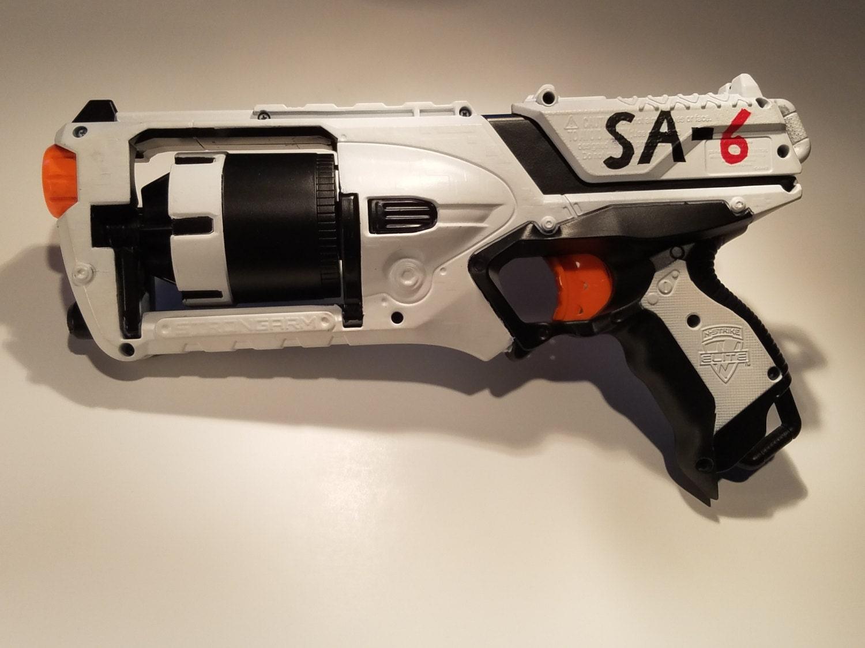 Nerf Strongarm Paint Job