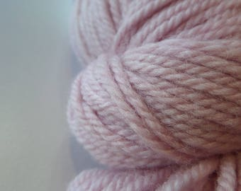 Zeta - Luna Grey Fiber Arts - Cherry Blossom - Polwarth - Wool - Silk - DK weight - Hand dyed - Kettle dyed - tonal - pink - yarn - knitting