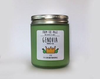 Genovia Soy Candle - 8 oz