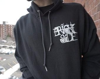 Black Brightside Mandala Hooded Sweatshirt