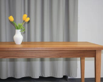 Dining table Wood ash 200 cm classic