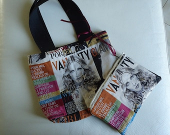 MADONNA FAN! THIS BAG IS MADE FOR YOU! ALONG WITH ITS MATCHING POUCH