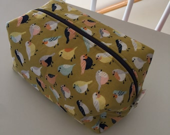 Travel Box Pouch - A Little Bird Told Me