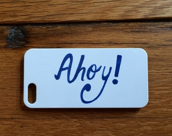 Ahoy! iPhone Case for 4/4s, 5/5s, SE, 6, or 7