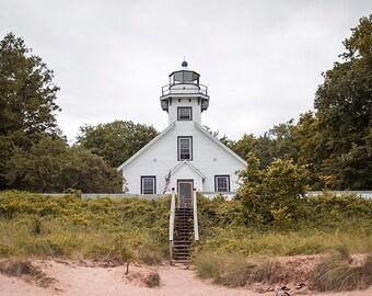 Mission Peninsula Light House Traverse City Michigan