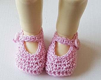 Kettenrad Schuhe Puderrosa