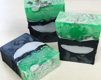 SALE Blackwater & Wildfire Soap - Game of Thrones Inspired Bar SALE