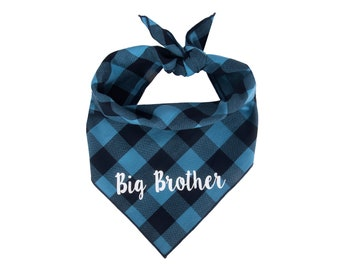Dog Bandana Birth Baby Announcement, Big Brother Dog Bandana, Pregnancy Announcement, Big Brother Dog Announcement, Baby Shower, Baby Gift