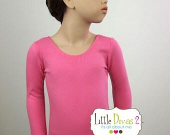 Princess Pink Leotard (Child) Long Sleeve Leotard