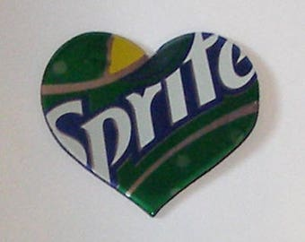 Heart Magnet - SPRITE Soda Can