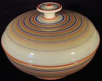 Seltmann Porcelain, Bavaria, covered bowl, 1930s