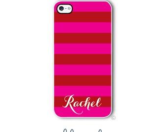 Stripes Phone Case Monogram iPhone 6 Case iPhone 6s Case Samsung Galaxy S5 S6 Case iPhone 5 Case iPhone 6 Plus Case iPhone 5c Case Style 285