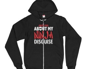 Ninja Disguise Hoodie sweater