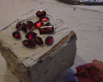Garnet Mixed Lot Natural Mined