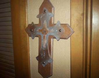 Wood Cross, Wall Cross, Wood Cross For Wall, Wooden Cross, Hanging Wood Cross, Cross For Wall, Cross Wall Ideas, Religious Gift Ideas