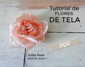 Floral Tutorial, how to make flowers, flowers for bouquets, flowers to make, step by step to make flowers, fabric flowers, instructions