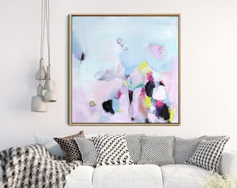 Abstract Painting, Original Artwork, Abstract Canvas Painting, Modern Art, Contemporary Art, Minimalist Art FREE SHIPPING