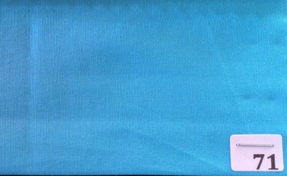 High quality cotton poplin, turquoise no71