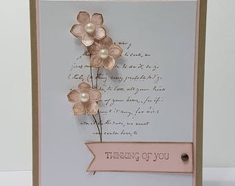 Pretty Petals Thinking Of You Card