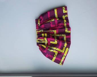 Ankara Baby Skirt