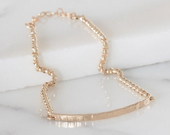 Bar bracelet Delicate bar bracelet Dainty bracelet