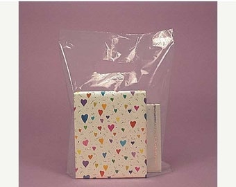 TAX SEASON Stock up 100 Pack 9X12 Inch Clear Handle Merchandise Retail Bags