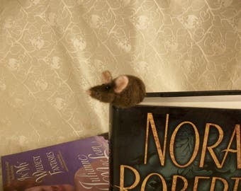 Needle Felted Mice, Book Mark Mice, Tiny Mouse