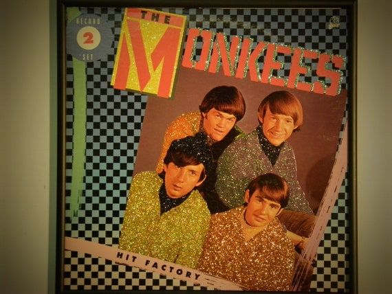 Glittered Record Album - The Monkees Hit Factory