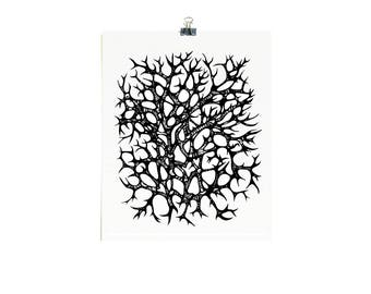 Roots and Branches - Limited Edition Screenprint