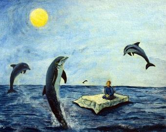 Dophin Dreams Original Painting