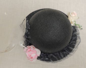3 Choices Rolled Brim Bowler Hat Kids Women / Easter / Mother's Day