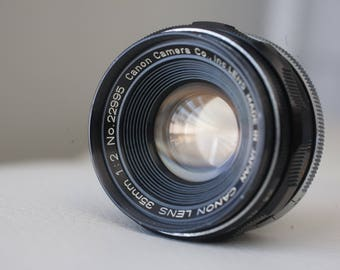 Canon 35mm f2 LTM Leica Screw Mount