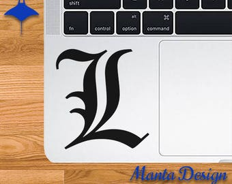Death Note L Vinyl Decal